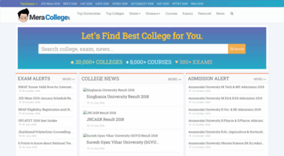 meracollege.net - find top colleges & universities in india - meracollege.net