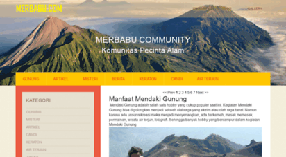 merbabu.com - merbabu.com community for nature lovers