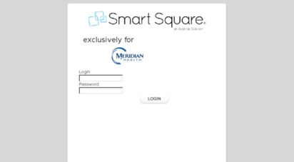 Welcome to Meridian smart-square com - Smart Square - Login