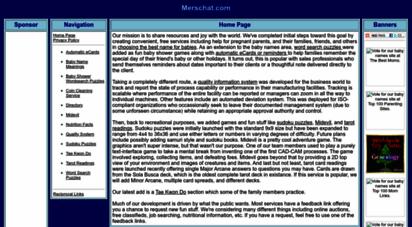 merschat.com - merschat.com. home page