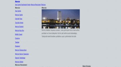 mersin.web.tr - mersin şehir rehberi  dünya kenti mersin