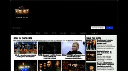metalhead.ro - metalhead.ro - site-ul de rock si metal numarul 1 in romania