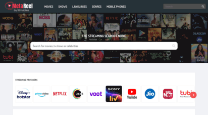 metareel.com - metareel - stream movies and tv series / shows online