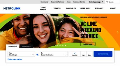 metrolinktrains.com