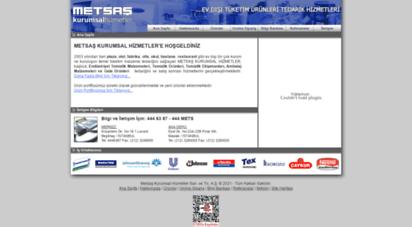 metsas.com.tr - metsaş: endüstriyel temizlik malzemeleri, temizlik ürünleri, temizlik ekipmanları, plastik ürünler