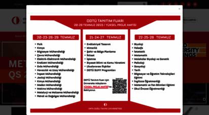 metu.edu.tr - metu  middle east technical university