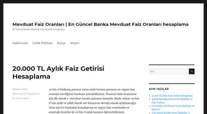 mevduatfaiz.net - mevduat faiz oranları  en güncel banka mevduat faiz oranları hesaplama - en güncel banka mevduat faiz oranları hesaplama