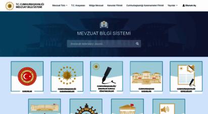 mevzuat.gov.tr - mevzuat bilgi sistemi