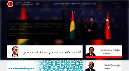 mfa.gov.tr -