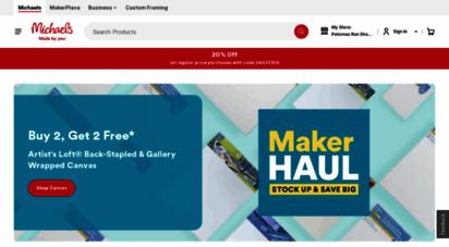 michaels.com - michaels stores - art supplies, crafts & framing