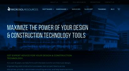 microsolresources.com - microsol resources - autodesk software, training, cad & building information modeling bim services, bim implementation