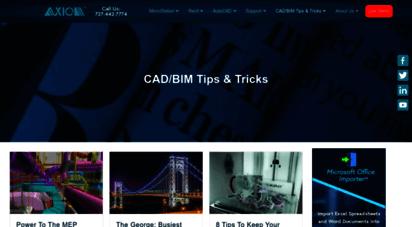 microstationtoday.com - tips and tricks  cad and bim  axiom