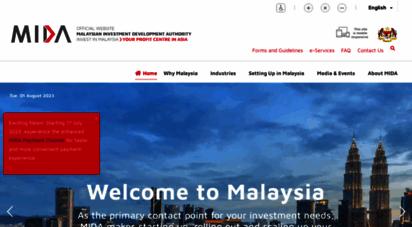 mida.gov.my - .: mida  malaysian investment development authority :. perihal mida
