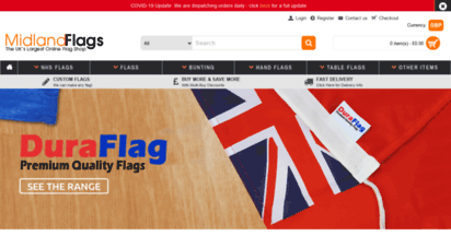 midland-flags.co.uk - midland flags - buy flags at the uk´s largest flag shop