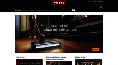 miele.com.tr - ana sayfa