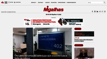 migalhas.com.br - migalhas é o maior e mais importante veículo jurídico do brasil.