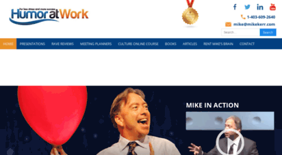 mikekerr.com - humour at work/ humor at work - michael kerr