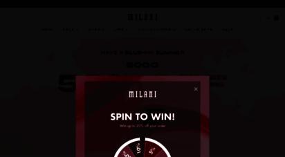 milanicosmetics.com -