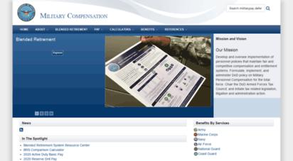 militarypay.defense.gov -