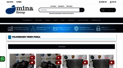 minayedekparca.com - volkswagen yedek parça  mina volkswagen