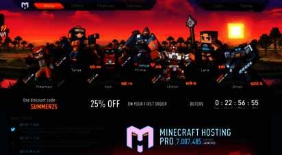 minecraft-hosting.pro - minecraft-hosting.pro : free minecraft server hosting