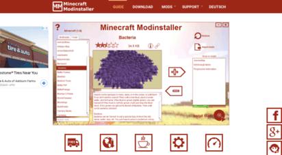 minecraft-installer.com - minecraft modinstaller - install mods easily 1.8, 1.7