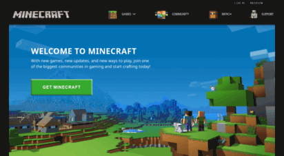 similar web sites like minecraft.net