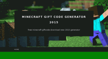 Welcome To Minecraftgiftcods Wordpress Com Minecraft Gift Code Generator 2015 Free Minecraft Giftcode Download New 2015 G