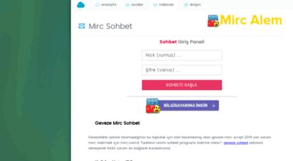 mirc.com.tr - mirc  mirc indir, chat , sohbet