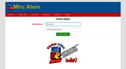 mircalem.net - mircalem.net - mirc indir  türkçe mirc sohbet odaları