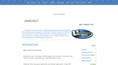 mirchelp-undernet.org - undernet´s mirchelp