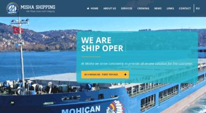 mishaship.com - misha shipping agency - provides full range of agency services at all major turkish ports and turkish straits...