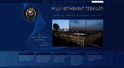 mit.gov.tr - milli istihbarat teşkilatı