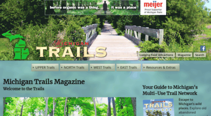 mitrails.org - michigan trails  michigan trails magazine, home page