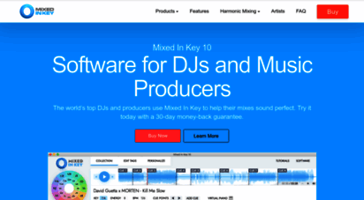 mixedinkey.com - mixed in key: software for djs and music producers - mixed in key