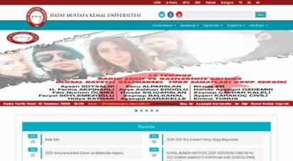 mku.edu.tr -