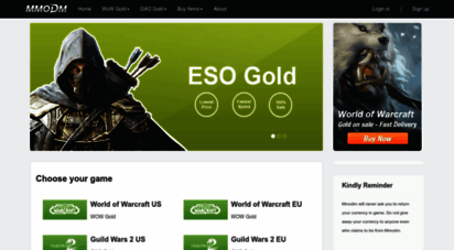 mmodm.com - wow gold,guild wars 2 gold,ffxiv gil,fifa15 coins - mmodm.com