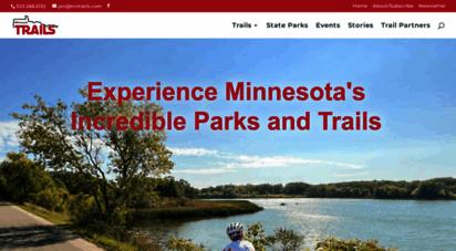 mntrails.com - minnesota trails magazine  a parks and trails journal