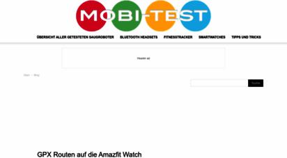 mobi-test.de - mobi-test - umfangreiche technik seite mit vielen testberichten