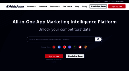 mobileaction.co - mobile action  app store optimization and app marketing tool