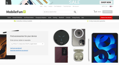mobilefun.co.uk - phone cases, covers, screen protectors, chargers & more! - mobile fun