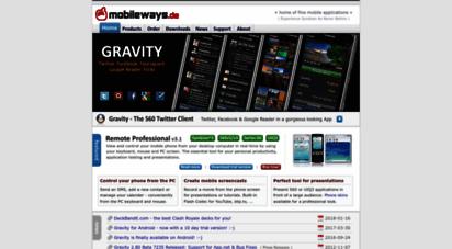 mobileways.de - mobileways.de - home of fine mobile applications