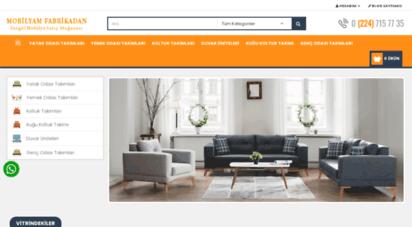 mobilyamfabrikadan.com - inegöl mobilya fabrika satış mağazası