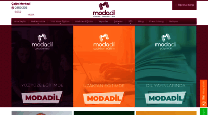modadil.com - modadil - yds, yökdil, yks-dil, toefl, ielts ingilizce kursu ankara
