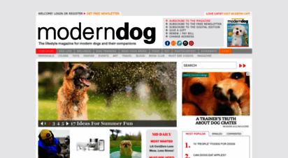 moderndogmagazine.com - modern dog magazine - the best dog magazine ever