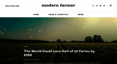 modernfarmer.com - homepage - modern farmer
