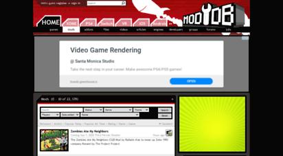 Welcome to Mods moddb com - Mods for Games - Mod DB