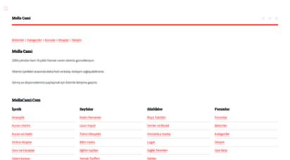 mollacami.com - mollacami.com  multimedia - muzik - ilahi - tasavvuf - edebiyat - forum