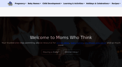 momswhothink.com - parenting advice for moms who think - momswhothink.com