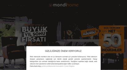 mondi.com.tr - mondi mobilya yatak baza ev tekstili